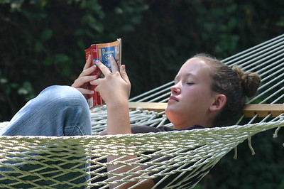 Nothing like a good book and a hammock at weekend getaway
