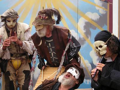 Danse Macabre band at Renaissance Pleasure Faire