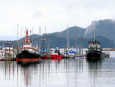 Sitka Harbor / Alaska