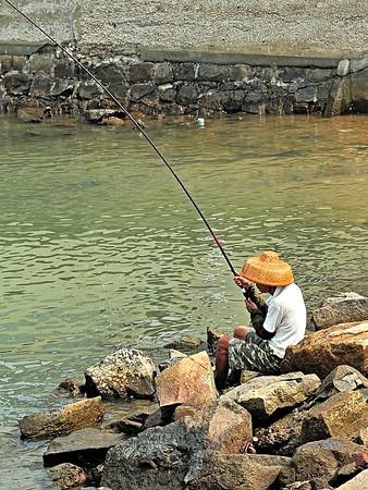 Fishing in Lantau / Hong Kong