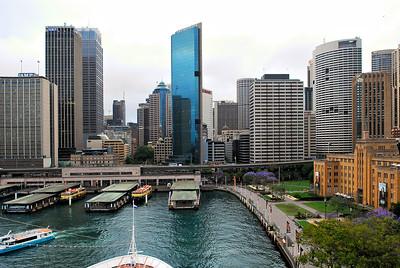 Arriving - Sydney / Australia