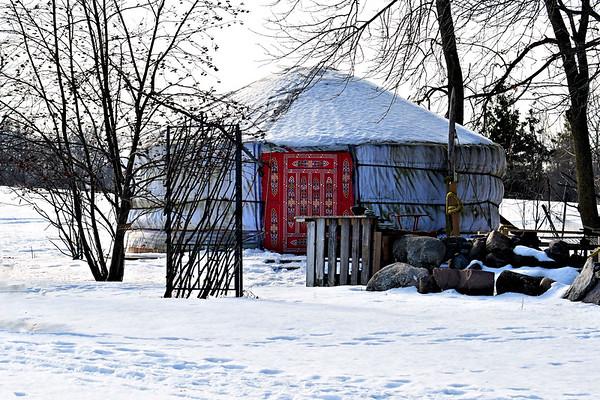 Authentic Mongolian Yurt  / Canada