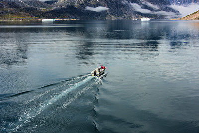 In a Greenland Fjord