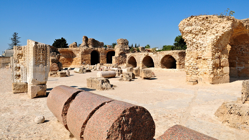 Ancient Ruins of Carthage / North Africa