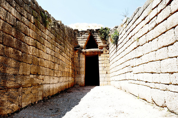 Tomb of Agamemnon - Mycenae / Greece