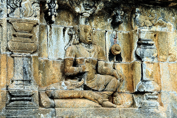 The Walls of Borobudur / Indonesia