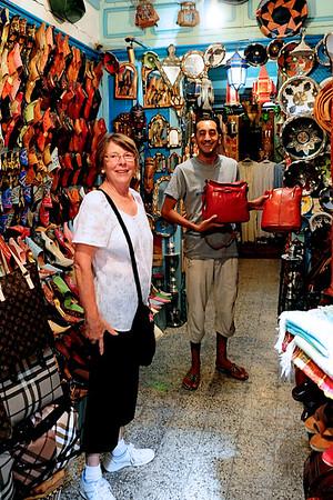 Shopping in Tunis