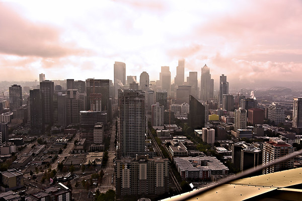 Seattle from Above / USA