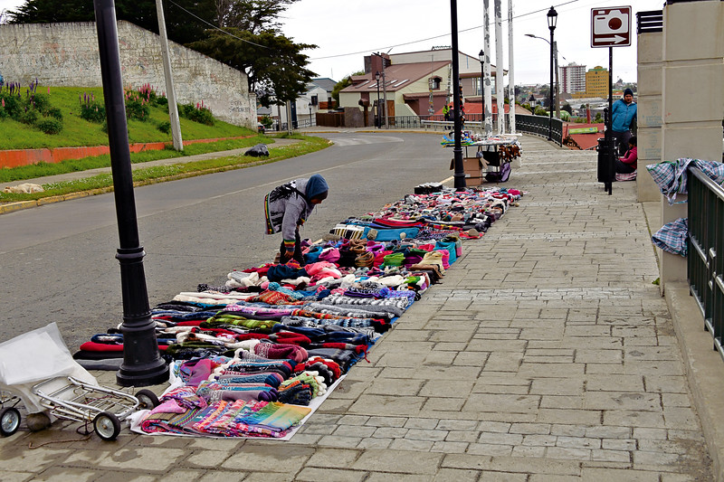 """Sidewalk Sale"" - Punta Arenas / Chile"