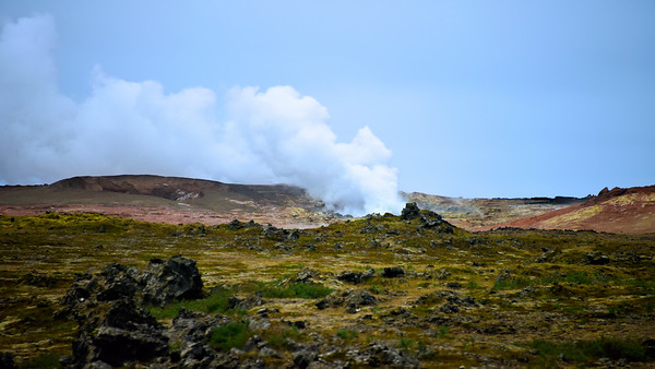 Fire in the Earth / Iceland