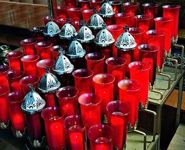 """""""Sacred"""" Candles / Alaska"""