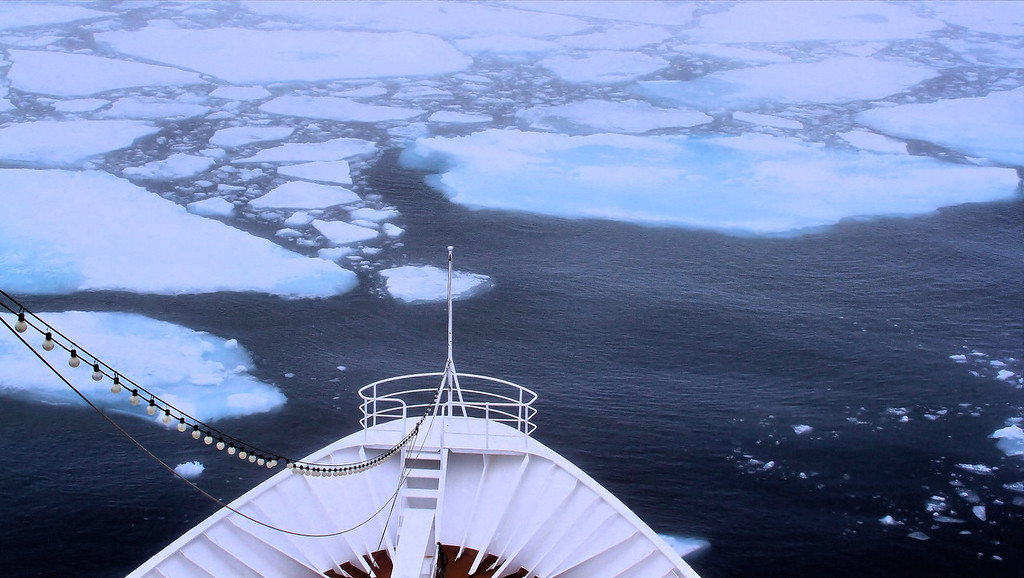 Pack Ice / 500 km South of North Pole