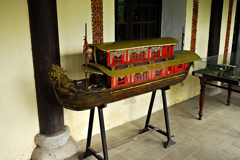 Royal Barge Model - Hue / Vietnam