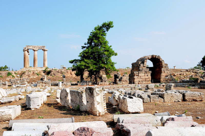 Archeological Site - Ancient Corinth / Greece