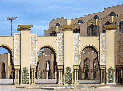 Moorish Architecture - Casablanca / Morocco
