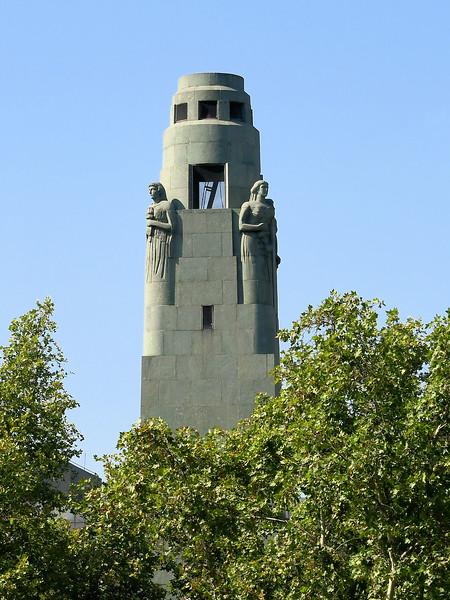 Los Heroes de Iquique Monument - Santiago / Chile