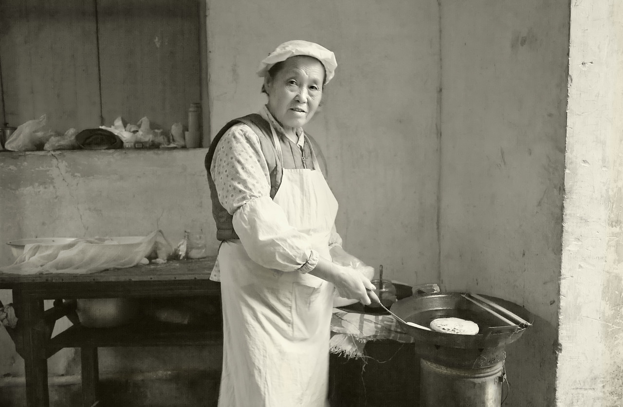 6) Women Cooking