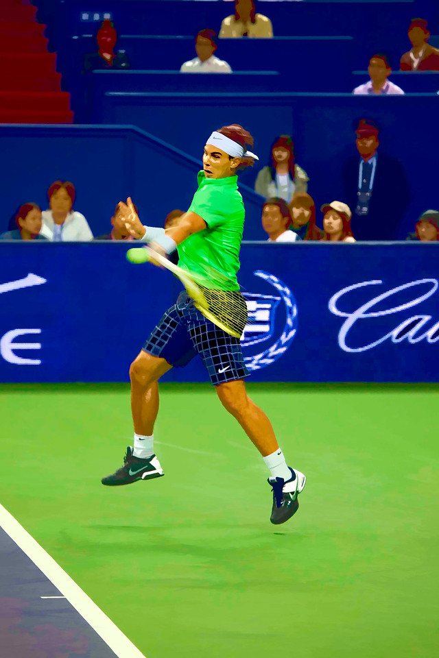 8) Nadal 2 Painted