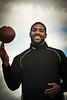 Arian Foster of the Houston Texans.  From I shoot I did with ProTips4U.  His mom liked the smile:)