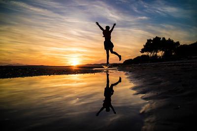 Happy Beach Jump