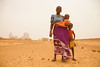 Mother with her children,  Mali