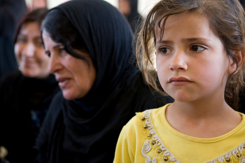 Families from Mosul, Iraq Displaced to Kurdistan. April 2009
