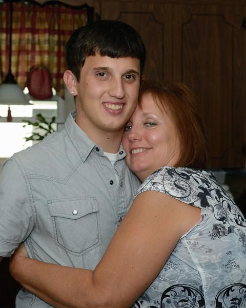 Dan and his mom - Dan's Graduation Party