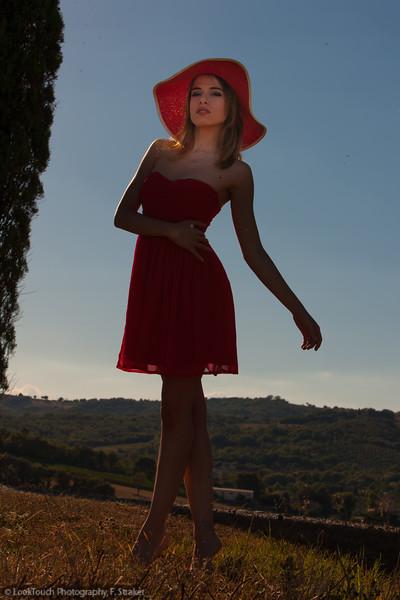 Model and makeup: Chiara Bianchino