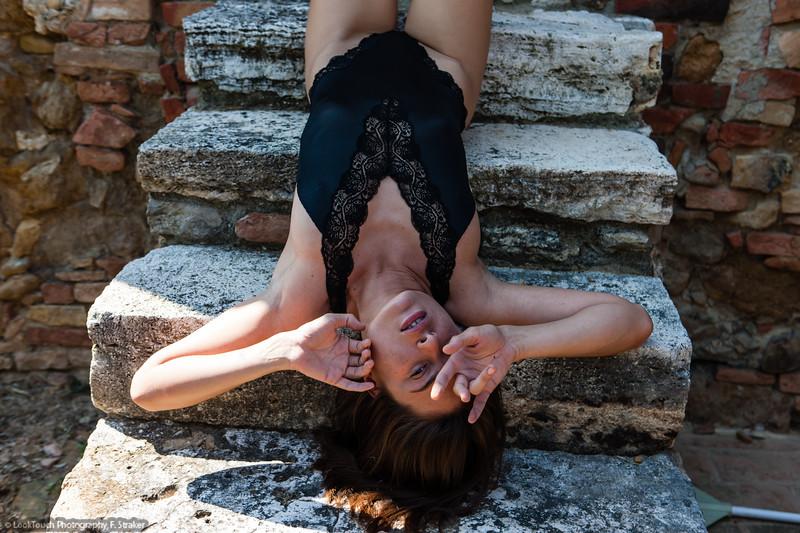 Model and makeup: Yulia Nefedova