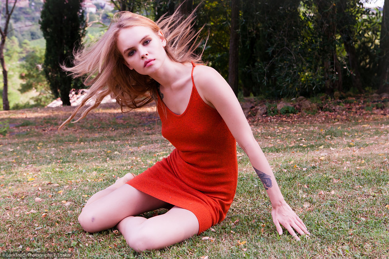 Model and makeup: Anastasia Shcheglova