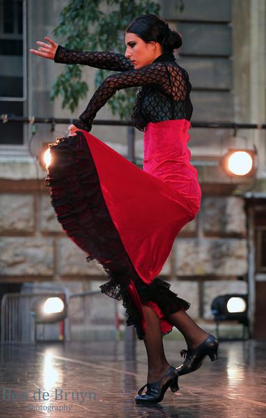 June 2013 Fete de Music Spanish Dancing 1E