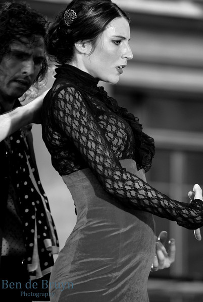 June 2013 Fete de Music Spanish Dancing 1ZB