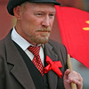 Moscow People: Lenin look alike at Manezhnaya Square