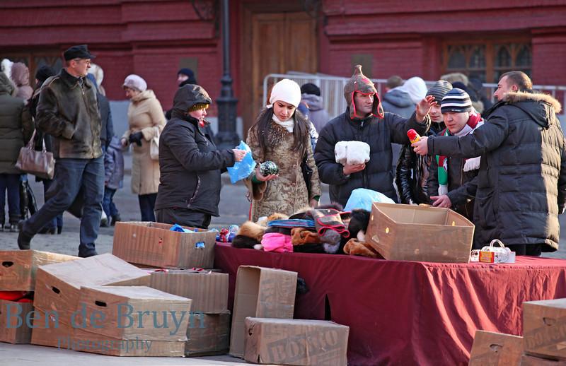 Feb 2013 Moscow Street vendors Manezhnaya Square 4