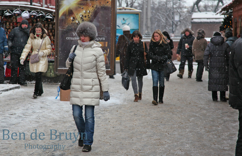Jan 2011 In cold near Red Square 1
