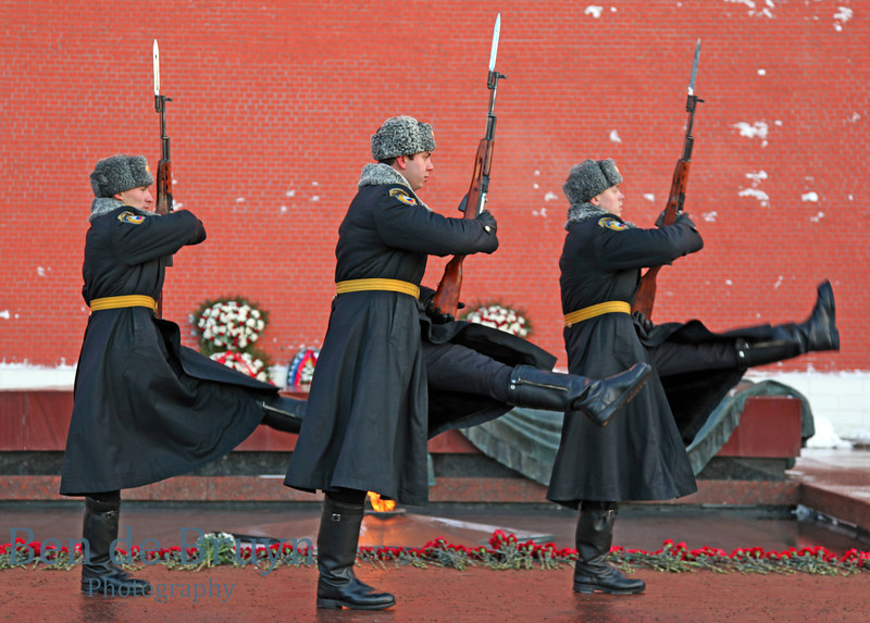 Moscow People: Changing of the guard at tomb of the Unknown Soldier View 2