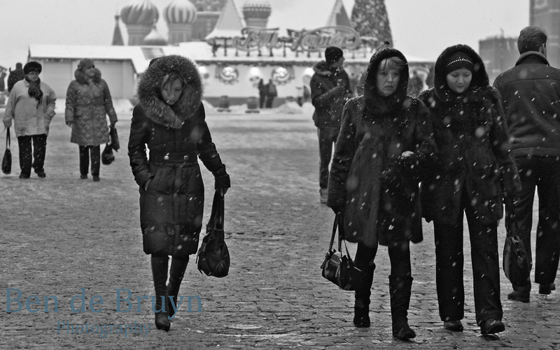 Jan 2011 In cold near Red Square 2