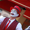Paris: Montmartre clown 2 July 2012