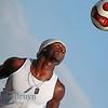Paris:Montmartre Sacre Cur Man with soccer ball 1 July 2012