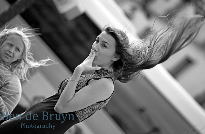 Paris:Wind in hair near Moulin Rouge July 2012