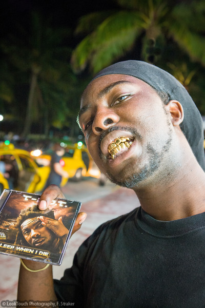 """Rapper T-D.O.T. with his album """"Sleep when I die"""""""