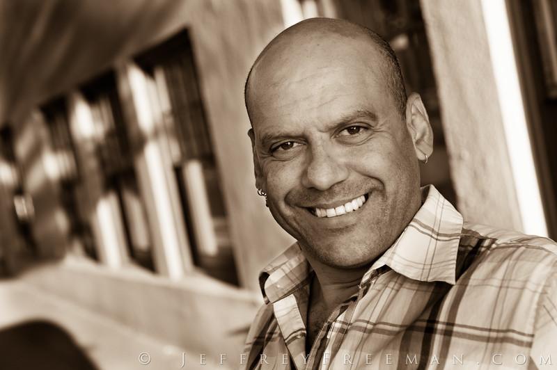 Dance instructor portrait