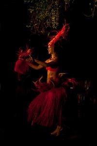 Mailani Dinner show Hula dancer Kauai, Hawaii