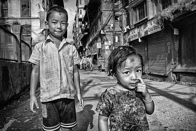 A Kathmandu scene