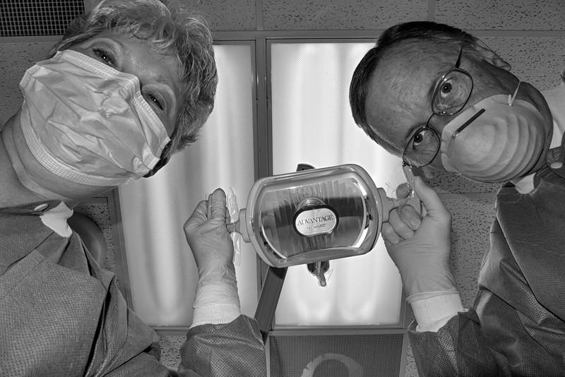 Dr Tom and Cheri