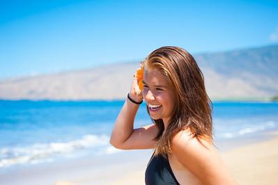 Erika's Senior Portrait in Maui