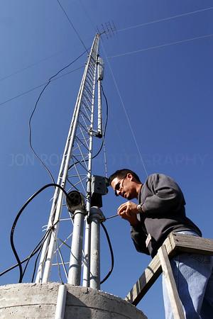 FAA Antenna Maintenance DHP VORTAC | Miami, FL Canon EOS 20D | Canon EF 17-40mm f/4 L USM1/250s | f/11 @ 17mm | ISO 200