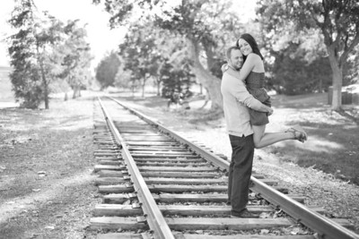 Chad and Erin's engagement photography session