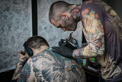 The Tattooed Tattooist