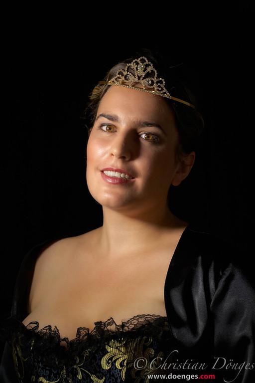 """Königin Anna aus dem Musical """"Die 3 Musketiere""""."""